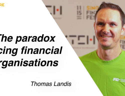 The essential paradox facing major financial organisations