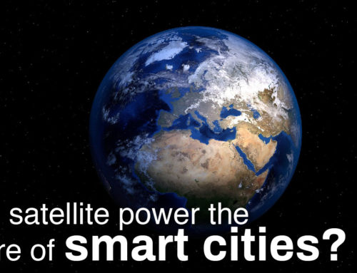 Can satellite power the future of smart cities?