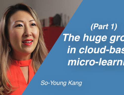 The huge growth in cloud-based micro-learning