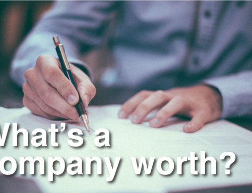 What's a company worth?