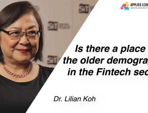 Is there a place for the older demographics in the Fintech sector?