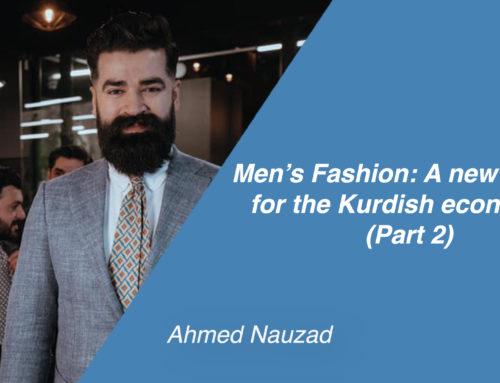 Men's Fashion: A new model for the Kurdish economy?