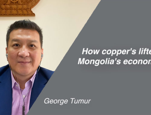 How copper's lifted Mongolia's economy?