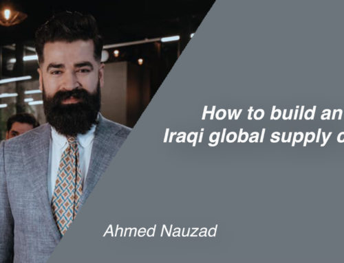 How to build an Iraqi global supply chain
