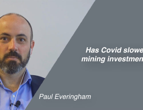 Has Covid slowed mining investments?
