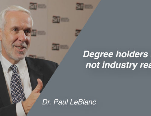 Degree holders are not industry ready