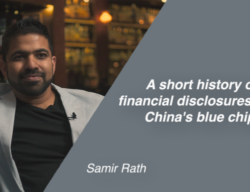 A short history of financial disclosures from China's blue chips